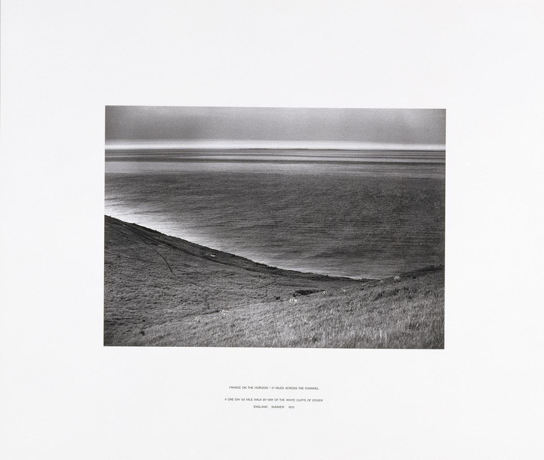 """Hamish Fulton, """"France on the Horizon"""" image"""