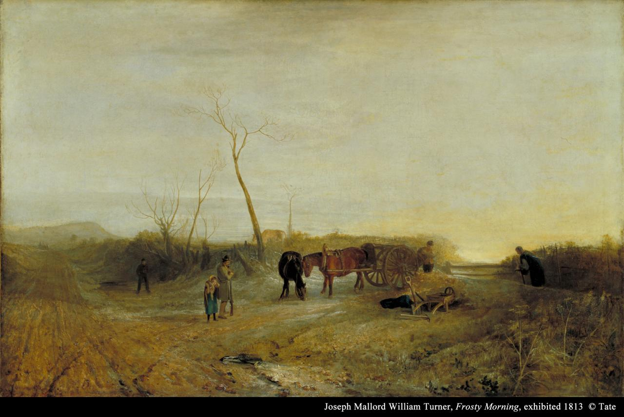 "Joseph Mallord William Turner, ""Frosty Morning"" image"