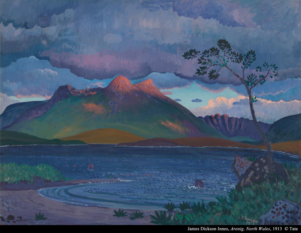 詹士.狄克森.英内斯《北威尔斯阿雷尼格山》的图片