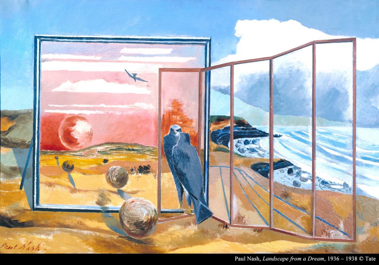 保罗.纳什《梦的风景》的图片