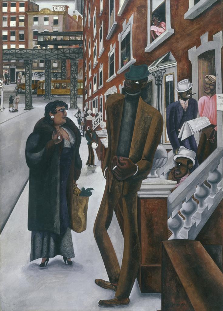 """Edward Burra, """"Harlem"""" image"""
