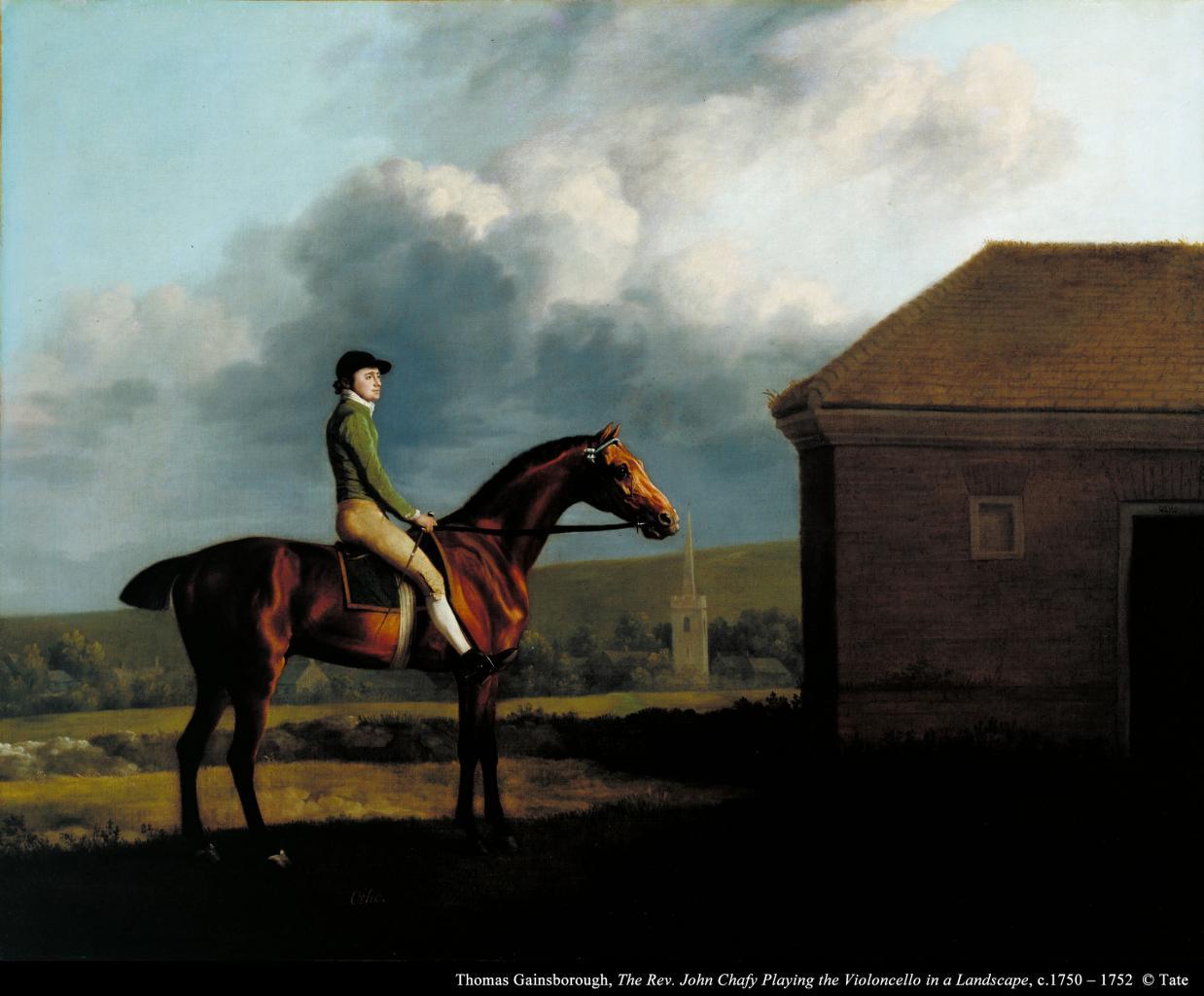 乔治‧史塔布斯《约翰.拉金策骑的奥托》的图片