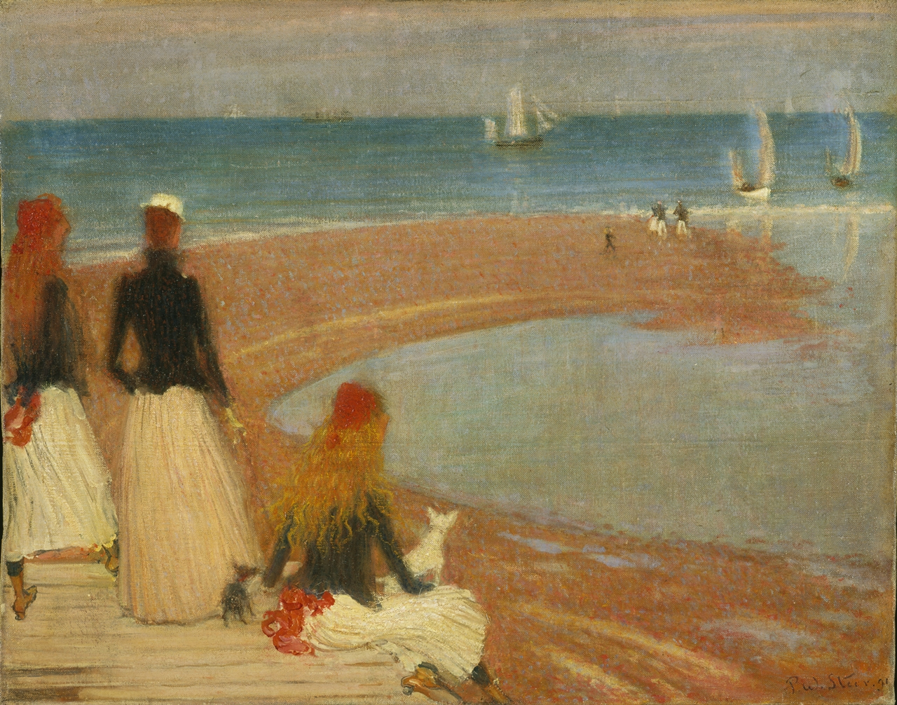 Philip Wilson Steer, 'The Beach at Walberswick' image