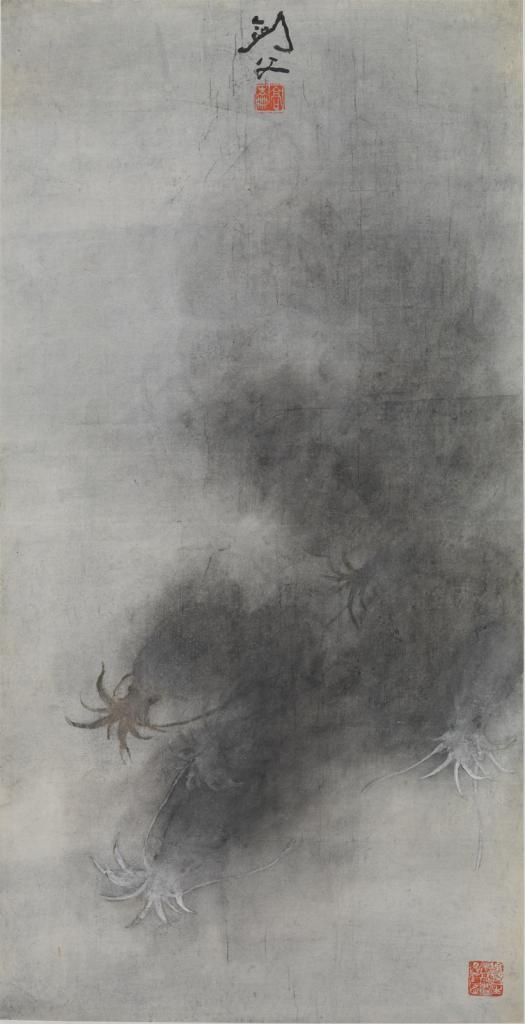 "Gao Jianfu, ""Sepia"" image"