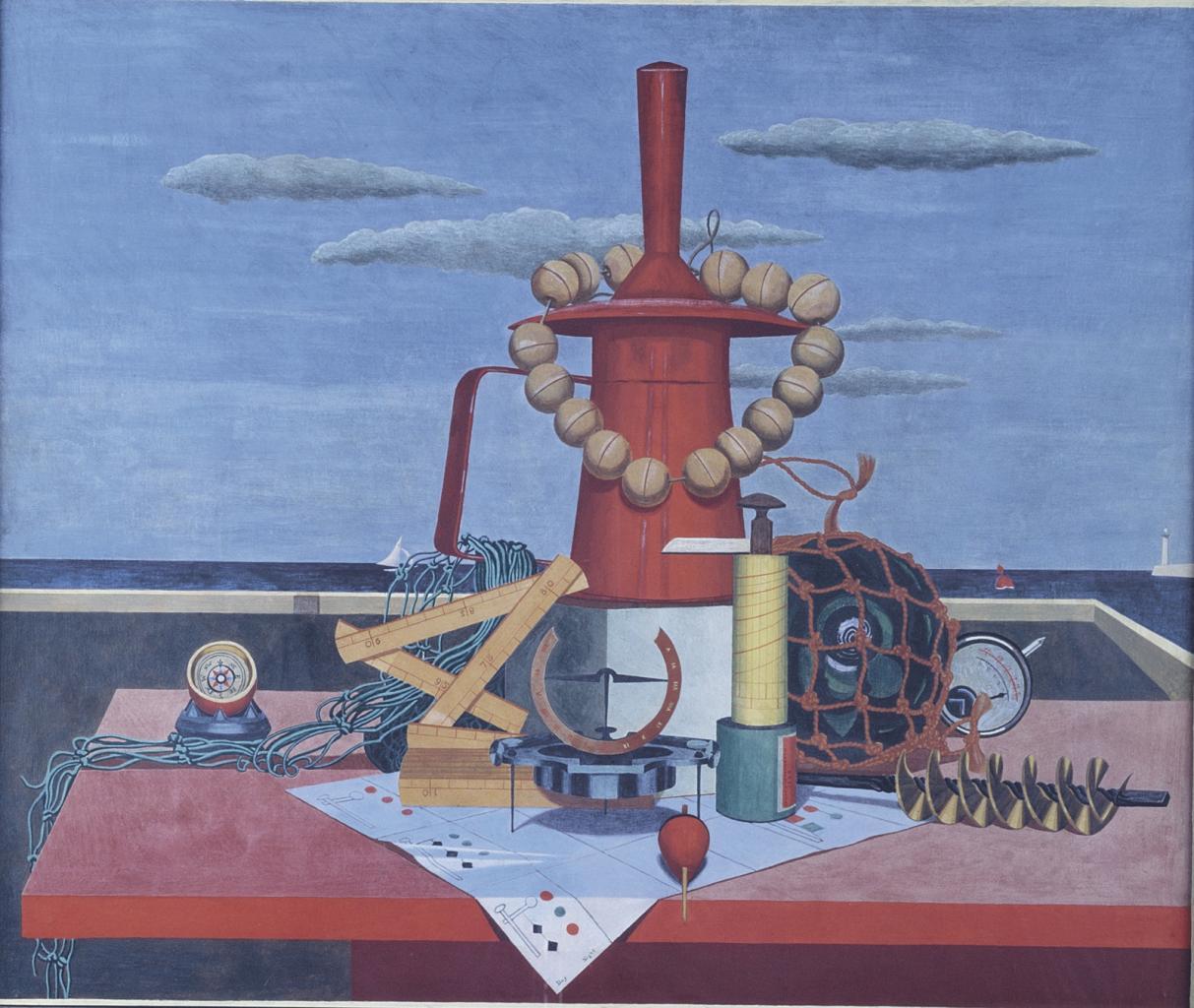 爱德华‧沃兹沃思《远航之宝》的图片